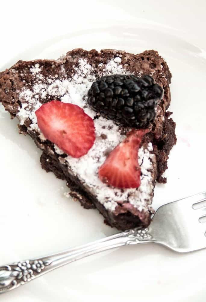 healthier flourless chocolate cake (6)