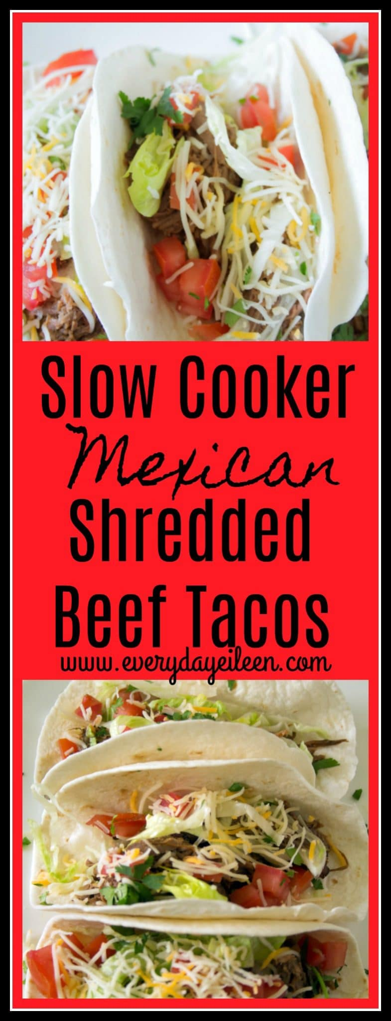 slow cooker Mexican shredded beef tacos