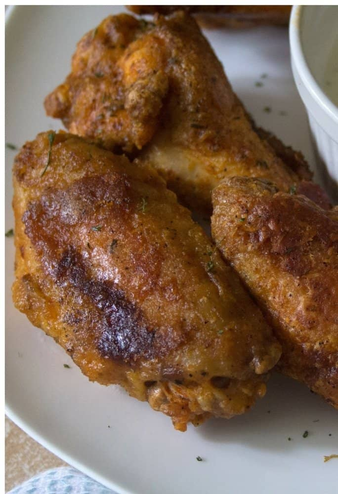 easy crispy baked chicken wings