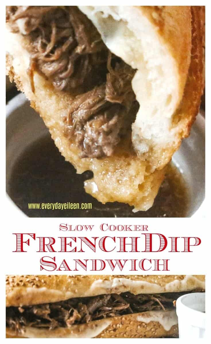 slow cooker French Dip Sandwich!
