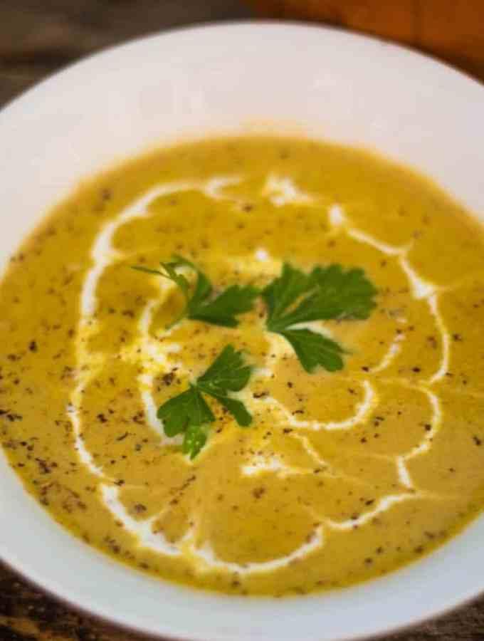 Harvest Pumpkin Soup #PumpkinWeek
