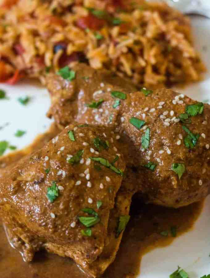 Easiest Chicken Mole Recipe