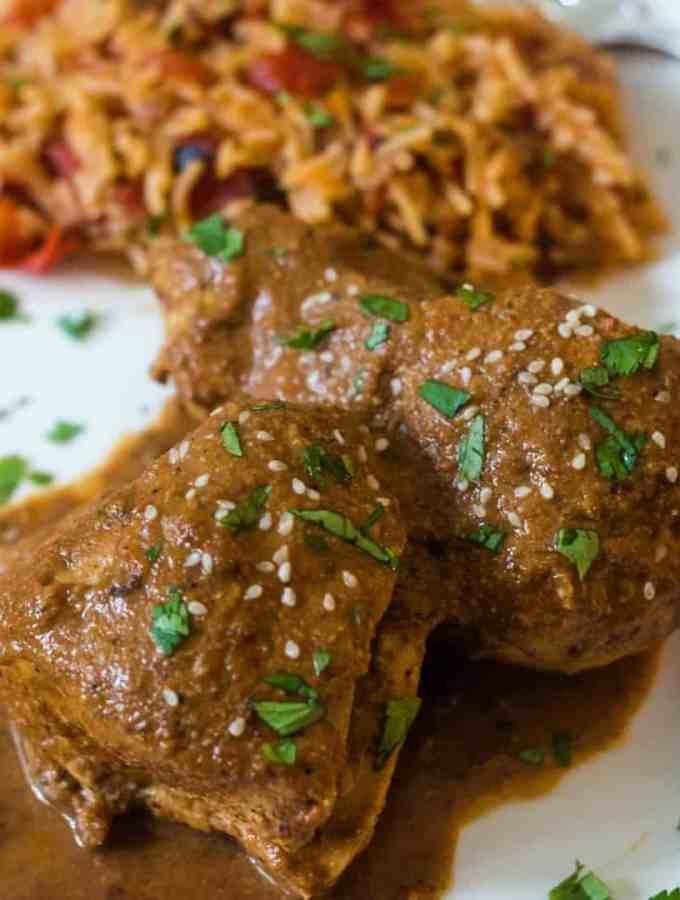Easiest Chicken Mole Recipe