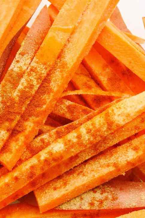 Easy Air Fryer Sweet Potato Fries