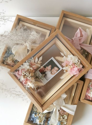 Superman Preserved Flower Frame (Father's Day Edition)