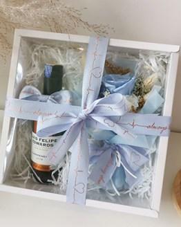 Mini Wine Love Box (Blue)