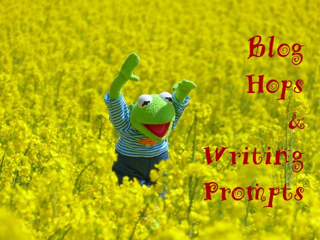 blog hops and writing prompts