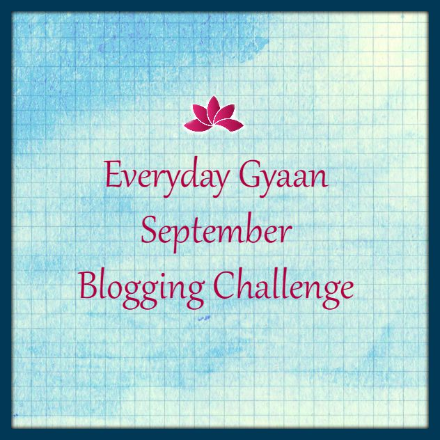 September Blogging Challenge