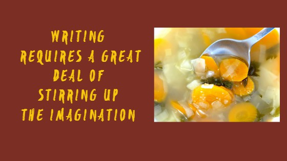 Stirring Up The Imagination #WODW