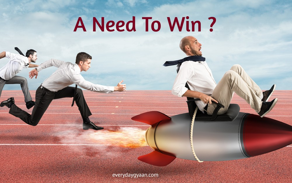 A Need To Win ?  #FridayReflections