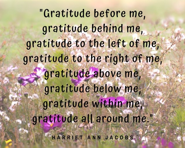 gratitude all around me