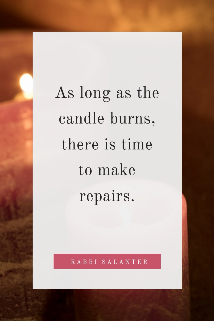 As Long As The Candle Burns
