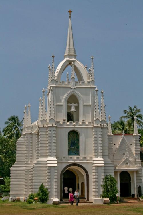 mae de deus parish saligaon