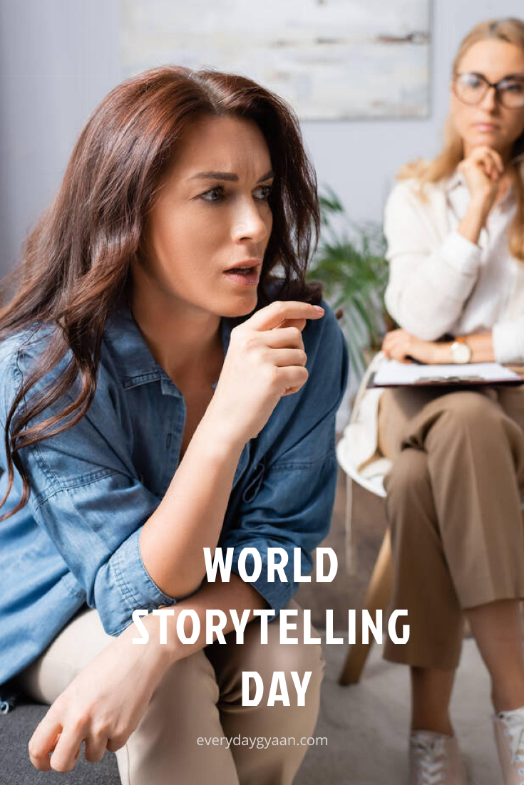 World Storytelling Day | 100 Words