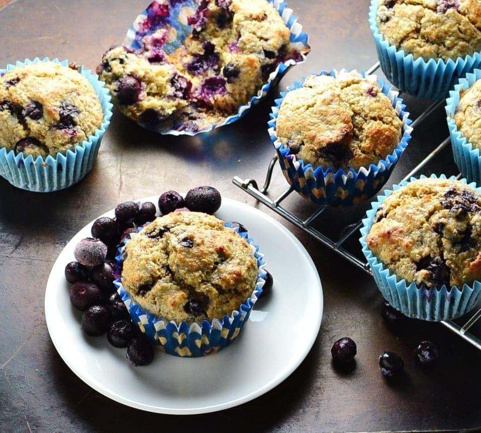 Healthy Blueberry Muffin Recipe with Quinoa