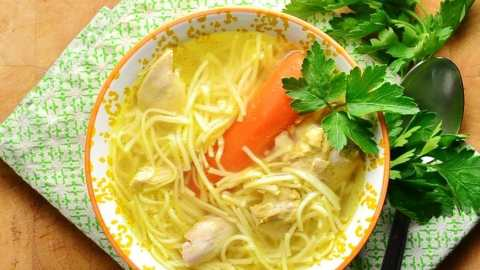 Polish Chicken Noodle Soup (Rosol)