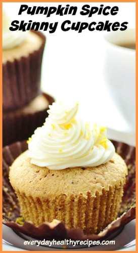 Pumpkin Spice Cupcake Recipe with Lemon Frosting!