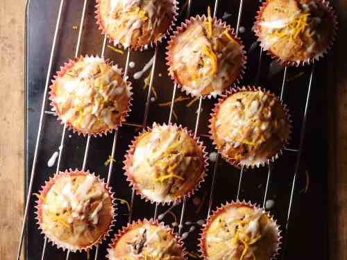 Dried Cranberry Muffins with Pecans