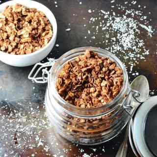 Chocolate Coconut Granola Recipe