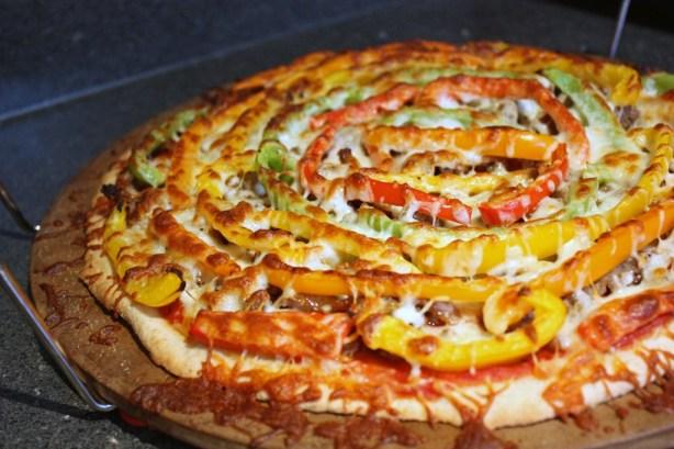 Sausage, Pepper, & Onion Pizza