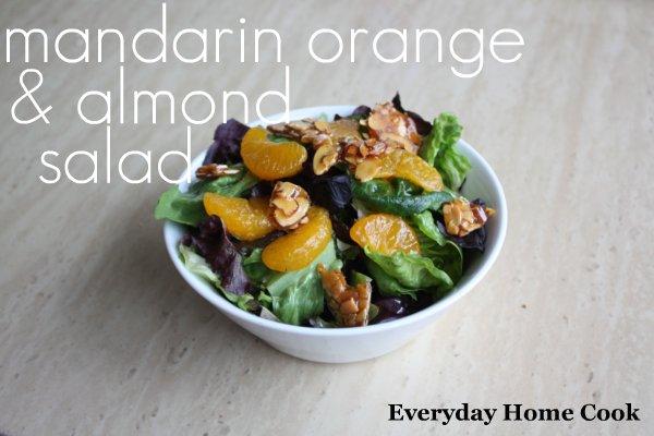 Mandarin Orange & Almond Salad