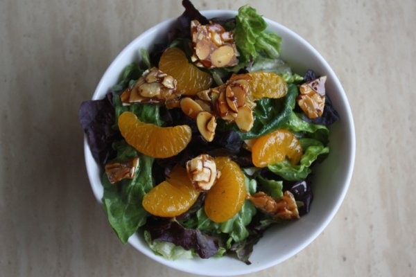 Mandarin Orange Amp Almond Salad Everyday Home Cook