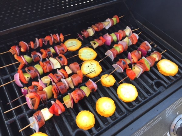 Kielbasa Apple Kabobs