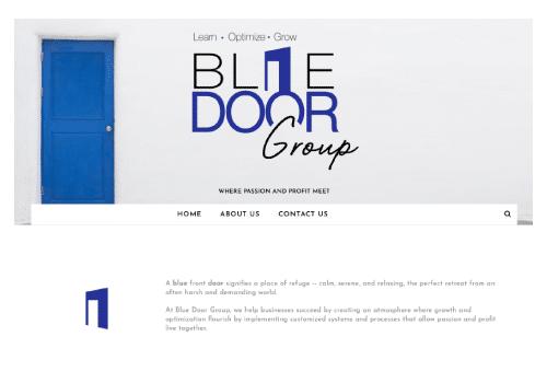 Blue Door Group Website