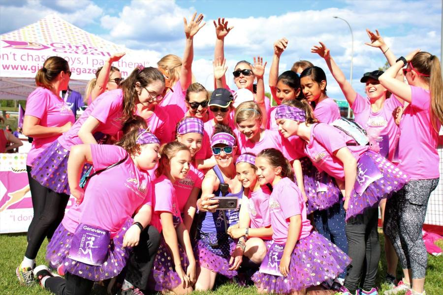 The Sole Sisters Race Series began as a fundraiser for local charity, Girls Gone Gazelle, a running program for girls designed to build self-confidence through exercise and community.