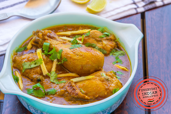 ginger chicken curry