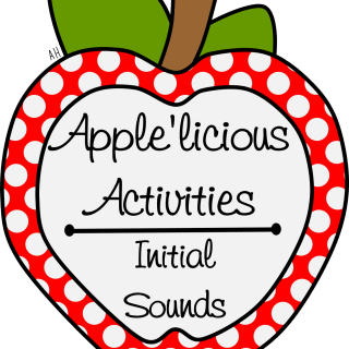Apple'licious Activieis l Initial Sounds