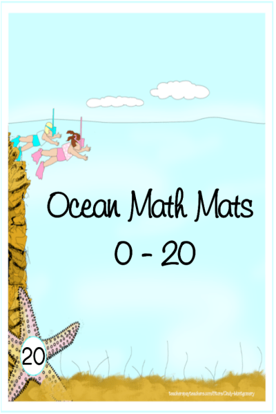 Print Your Own Ocean Math Mats 0 - 20