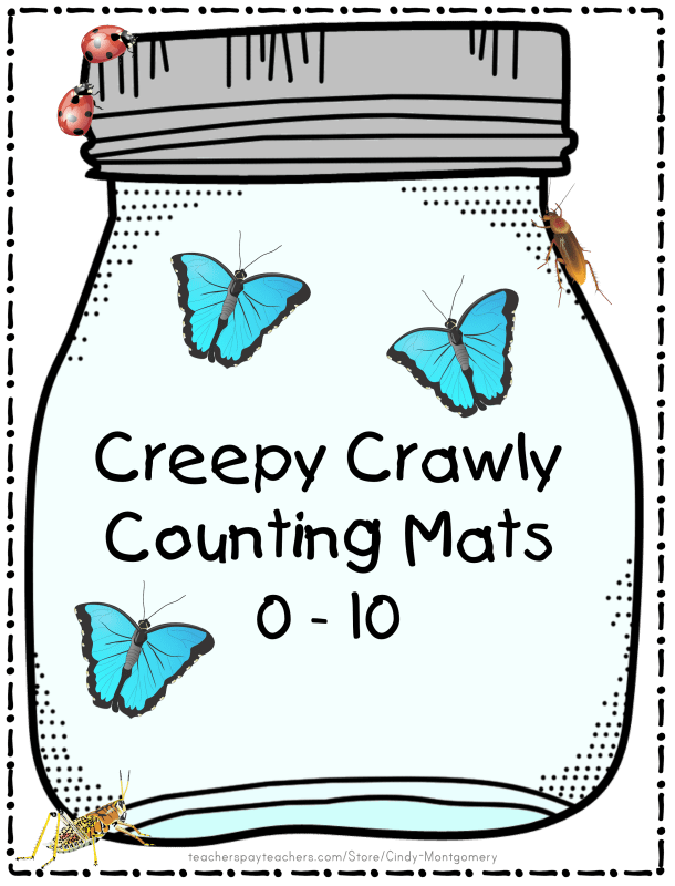 Creepy Crawly Counting Mats