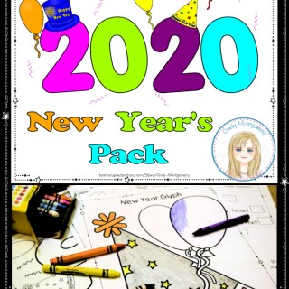 2020 New Year's Pack activities