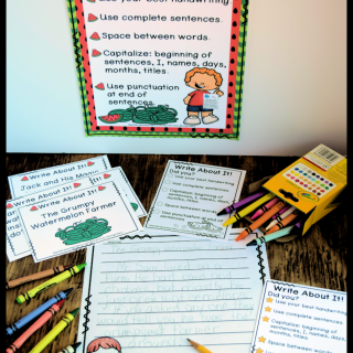 Watermelon Writing Prompts, Paper and More