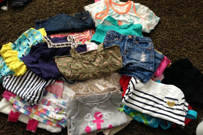 Yardsale Saturday Baby Clothes2