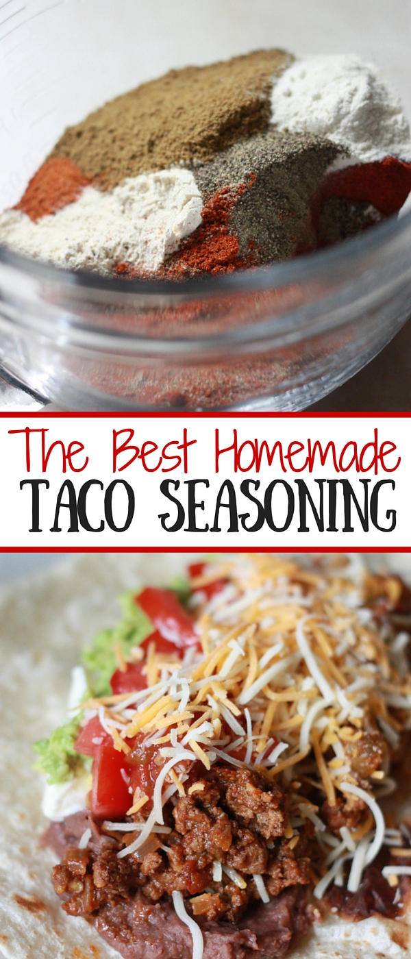 The Best Homemade Taco Seasoning Mix