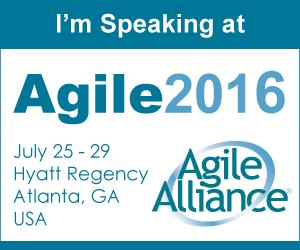 I'm speaking at Agile2016