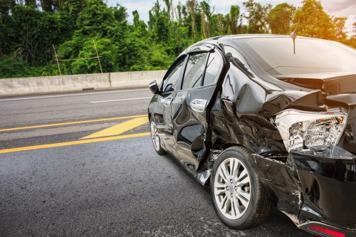 spiritual meaning of seeing a car accident