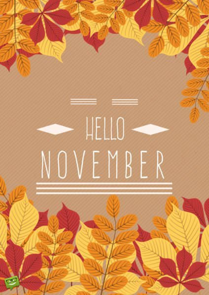 Really Cute Thanksgiving Wallpaper Hello November Quotes For The Month Of Gratitude
