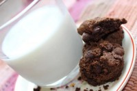 Double Chocolate Chip Cookies – Vegan Adaptable