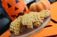 Pumpkin Spiced Peanut Butter Cookies – Egg Free and Vegan Adaptable