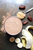 Naturally Sweetened Peanut Butter Fudge Smoothie