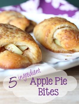 5 ingredient apple pie bites