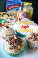 Caramel Apple Cupcakes, Fall Inspired Baking