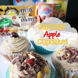 Caramel Apple Cupcakes, Fall Inspired Baking