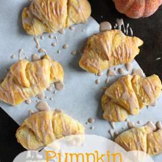 Pumpkin Cheesecake Roll Ups