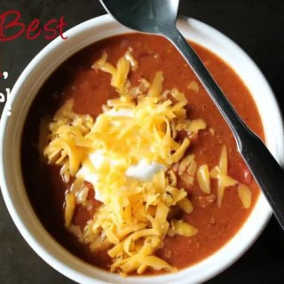 The Best Chili Recipe Ever!!