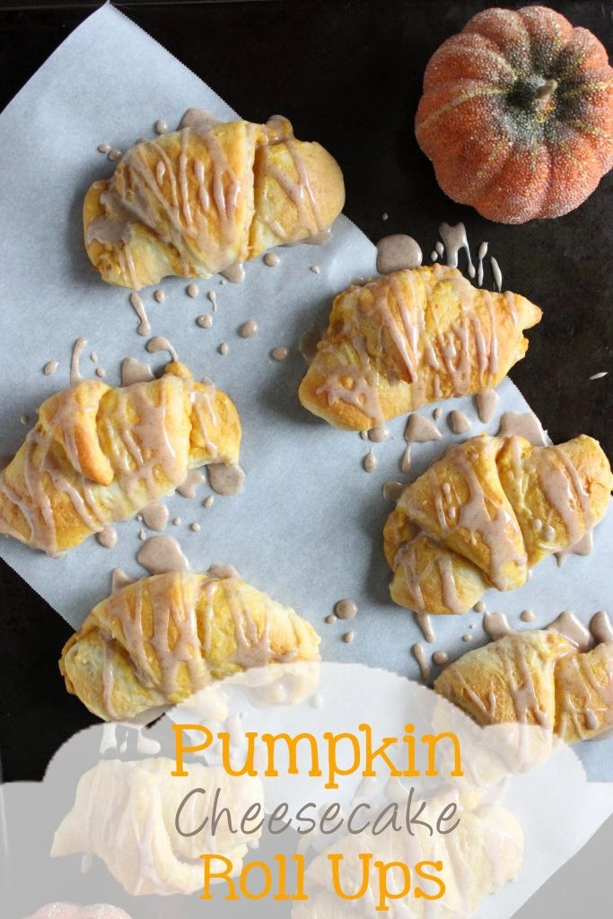 Pumpkin Cheesecake Roll Ups   EverydayMadeFresh.com