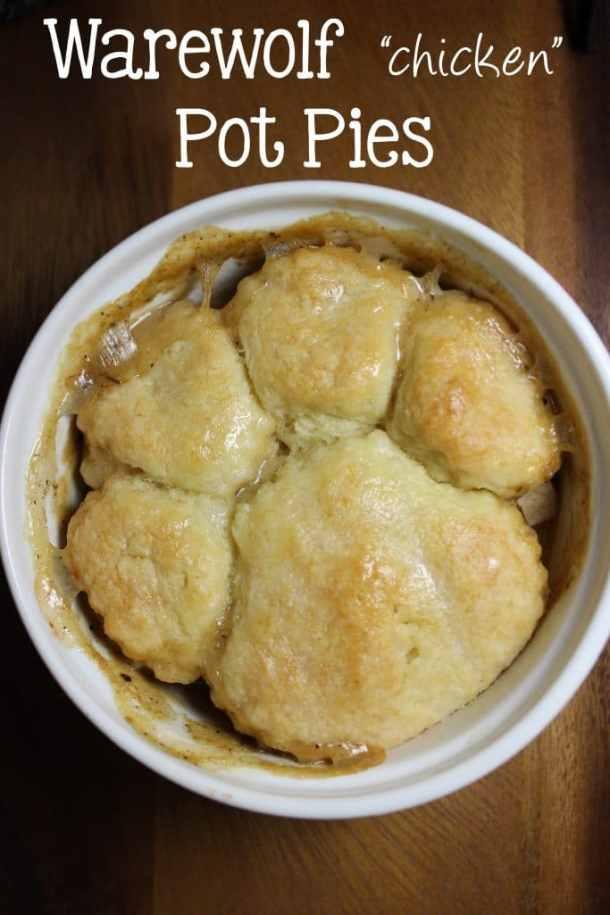 Warewolf chicken Pot Pies
